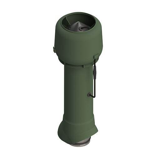 Вентиляционный выход ТР-85Е.125/160/700 с вентилятором (зеленый)